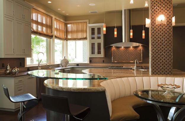Bravo interior design portfolio view by room kitchens for Soft modern interior design