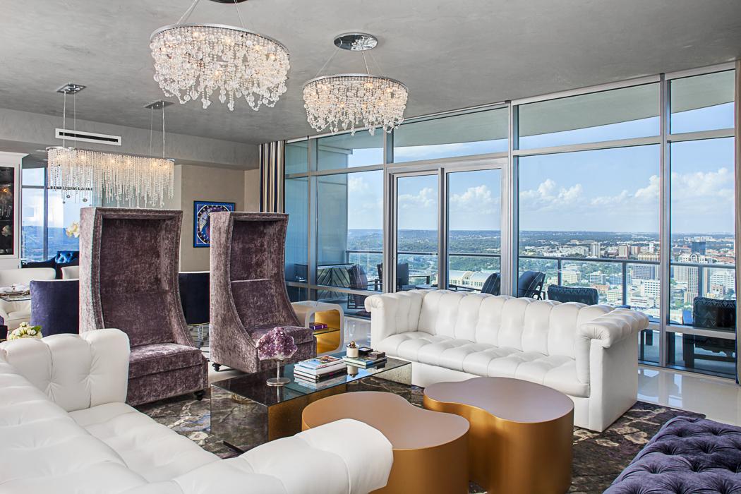 Award Winning Condo Living Room Interior Design 2014